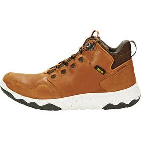 Teva Arrowood Lux Mid WP Chaussures Homme, cognac